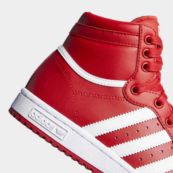 adidas Top Ten Hi Shoes Red   adidas US