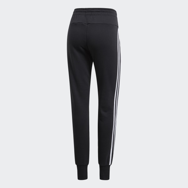 adidas Must Haves 3 Stripes French Terry Joggers Black | adidas UK