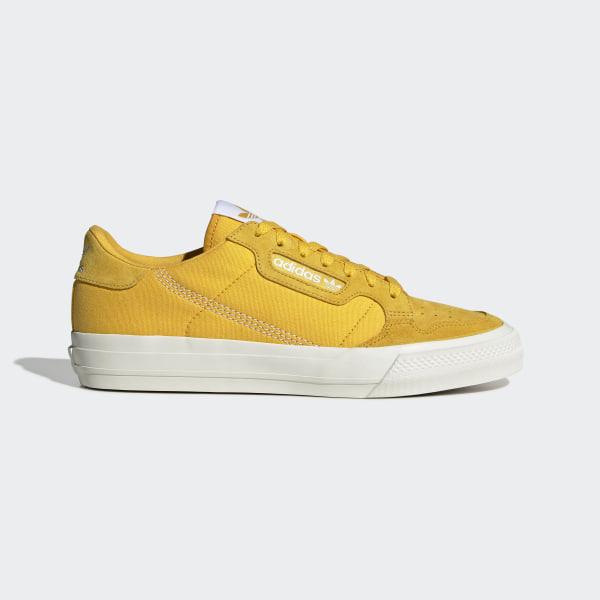 adidas Continental Vulc Schoenen - Goud   adidas Officiële Shop