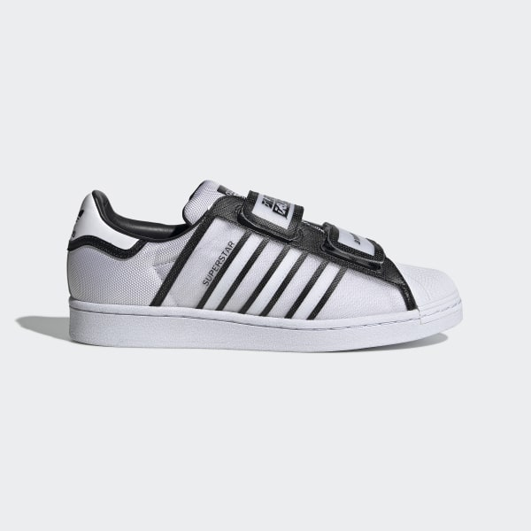 Adidas Superstar White Metallic Silver Glitter Womens