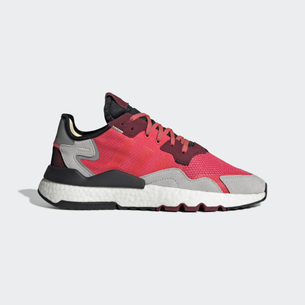 adidas red joggers donna