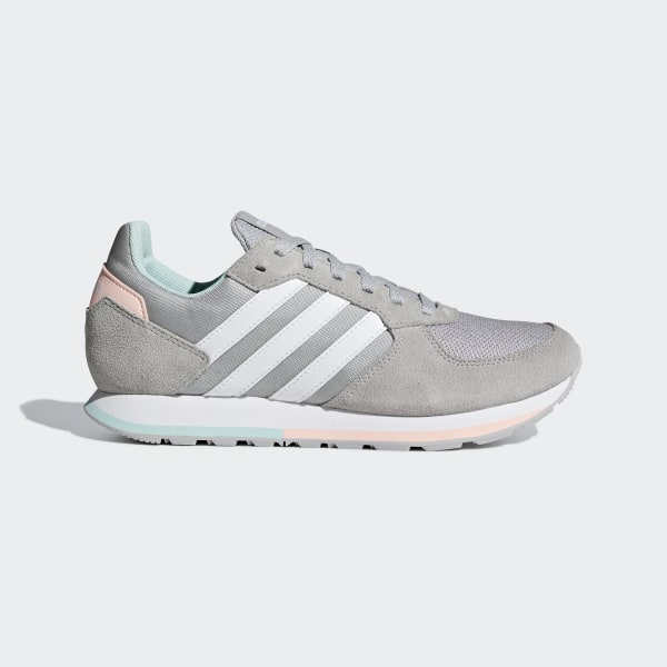 zapatillas grises adidas mujer