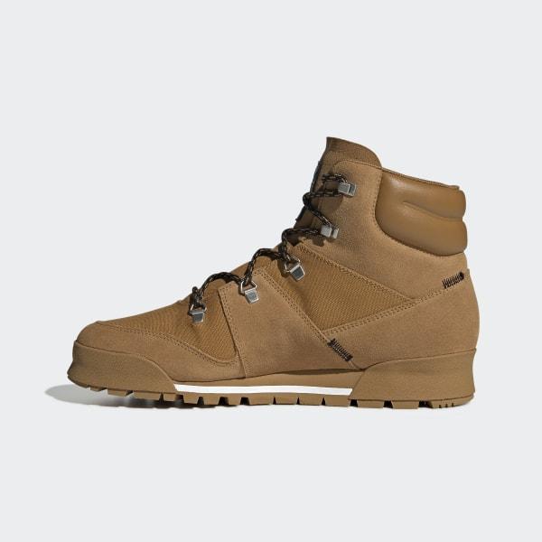 sprawdzić oficjalny dostawca świetne dopasowanie adidas Terrex Snowpitch Climawarm Boots - Brown | adidas UK