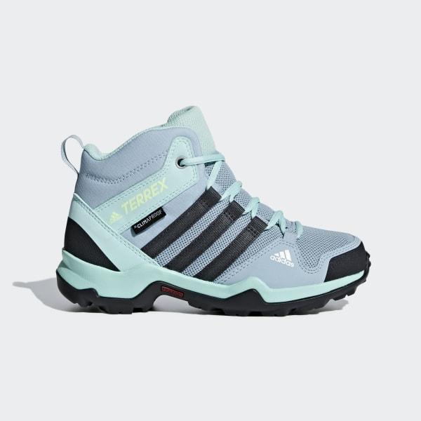 adidas Terrex AX2R Mid Climaproof Shoes Blue | adidas US