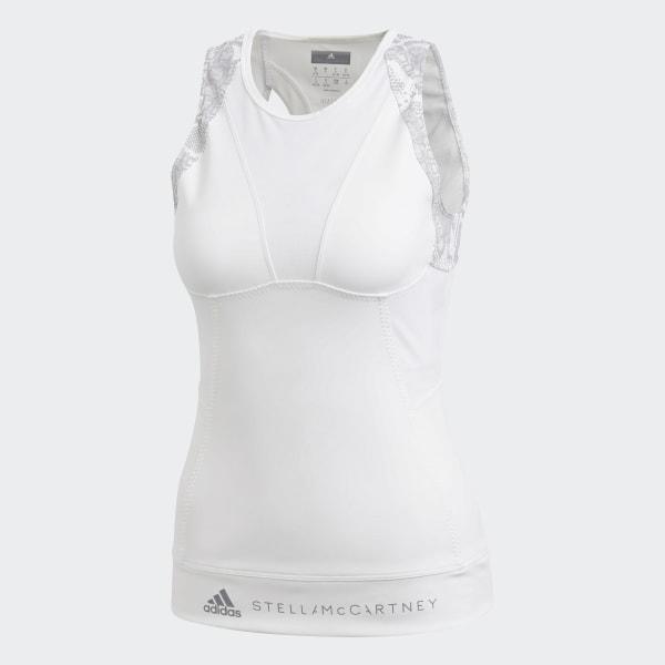Débardeur HEAT.RDY Run Fitted Blanc adidas | adidas Switzerland