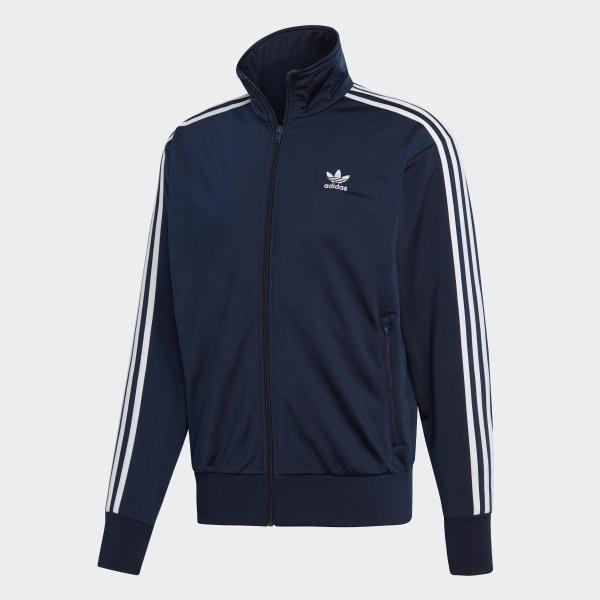 adidas firebird jacke blau rot