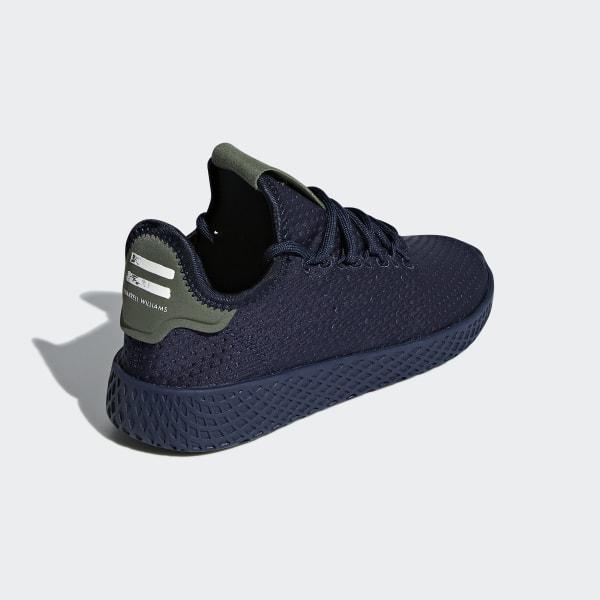 oryginalne buty 100% autentyczny więcej zdjęć adidas Pharrell Williams Tennis Hu Shoes - Blue | adidas Switzerland