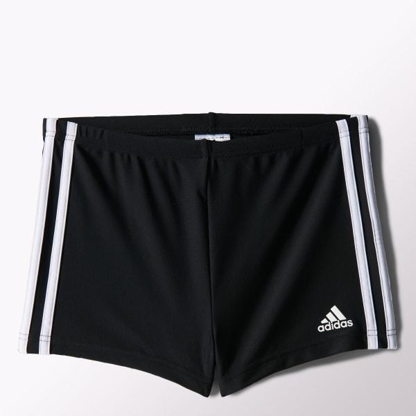 precio más bajo con ofrecer descuentos niño adidas Shorts de Natación Infinitex 3 Tiras - Negro | adidas Argentina