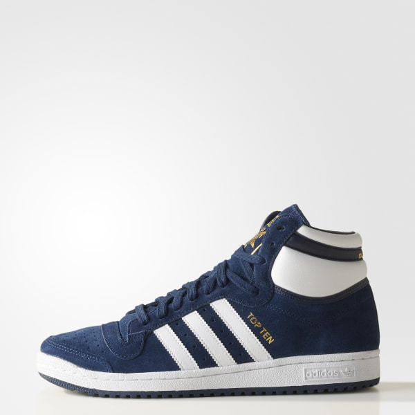 adidas Zapatillas Originals Top Ten Hi Negro | adidas Argentina
