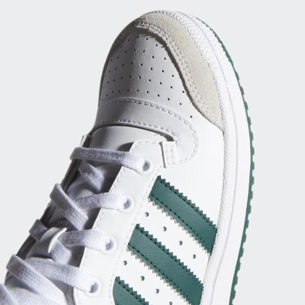 adidas Big Kids/' Originals Top Ten Hi OG Shoes EF2831 White//Green//Orange