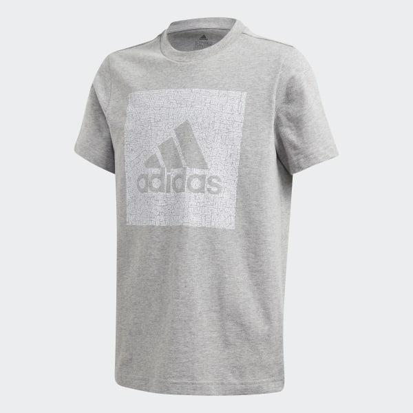 adidas Must Haves Badge of Sport T shirt Grå | adidas Denmark