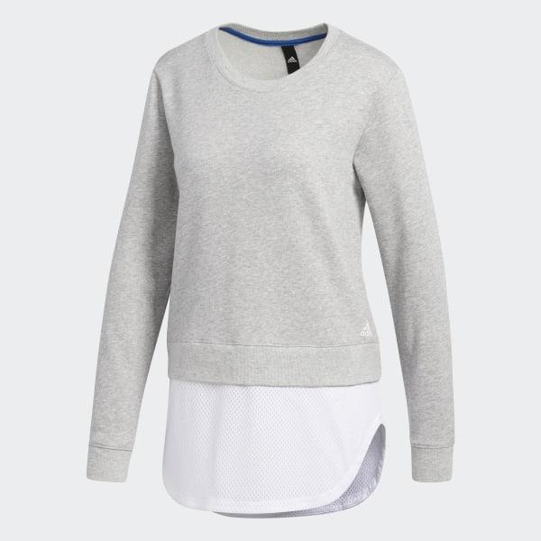 adidas Dual Sweatshirt Grey | adidas US