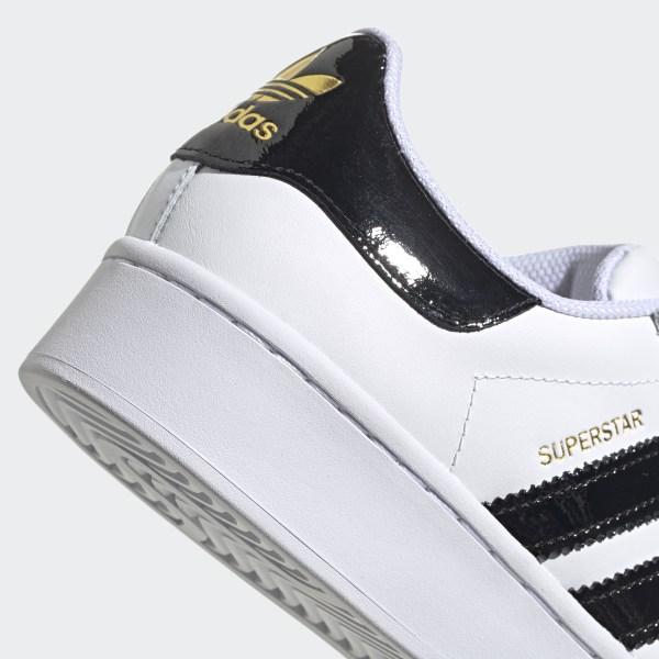 Giày Superstar Bold Cloud White / Core Black / Gold Metallic FV3336