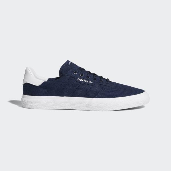 blauer adidas schuh skate
