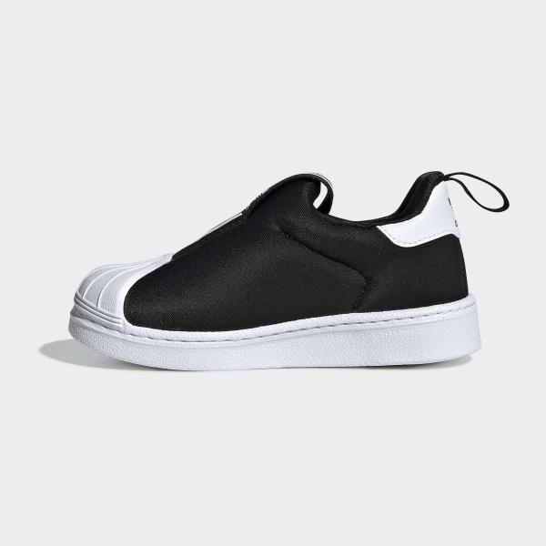 Köp Äkta adidas Originals SUPERSTAR 360 Slip ins svart
