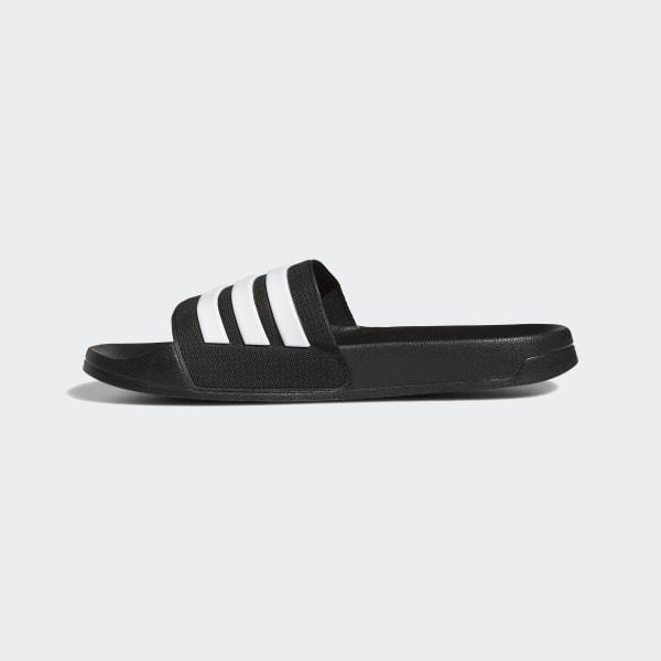 Claquette Adilette Cloudfoam Noir adidas | adidas France