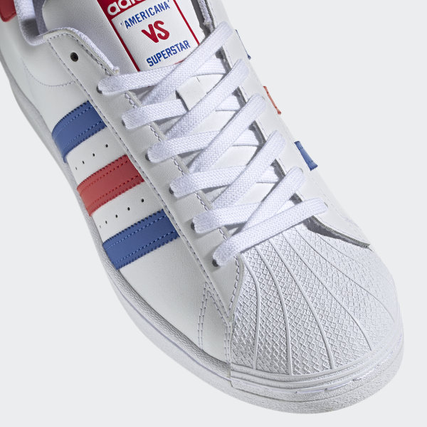 Superstar Schoenen Cloud White / Blue / Team Colleg Red FV2806