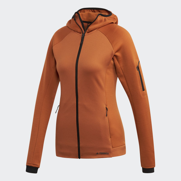 Veste Stockhorn Hooded Marron adidas | adidas France