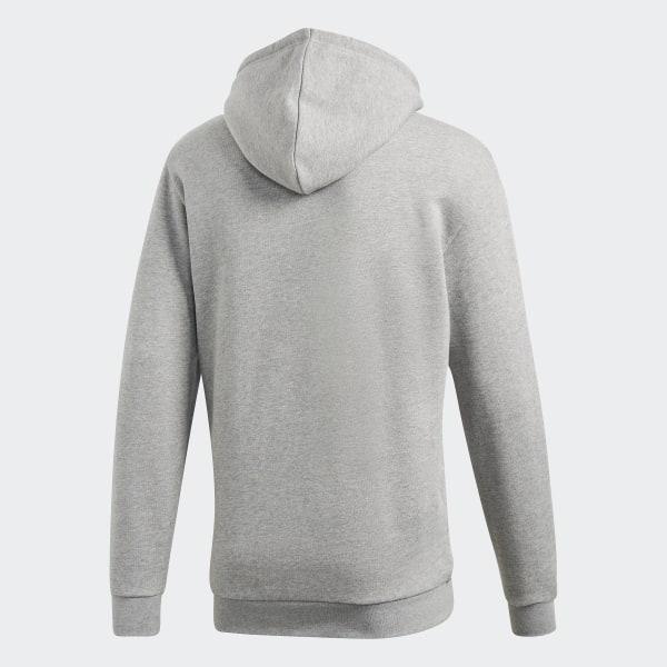 adidas Sweat-shirt à capuche Trefoil - Gris