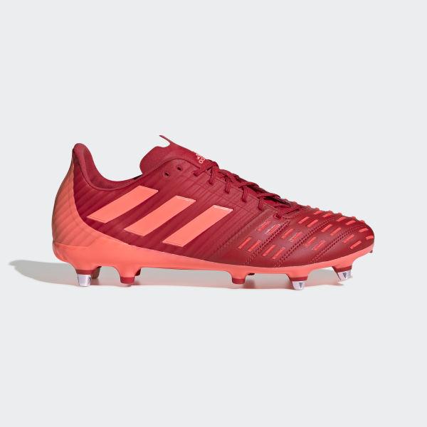 adidas Predator Malice Control Soft Ground Boots Red   adidas Belgium