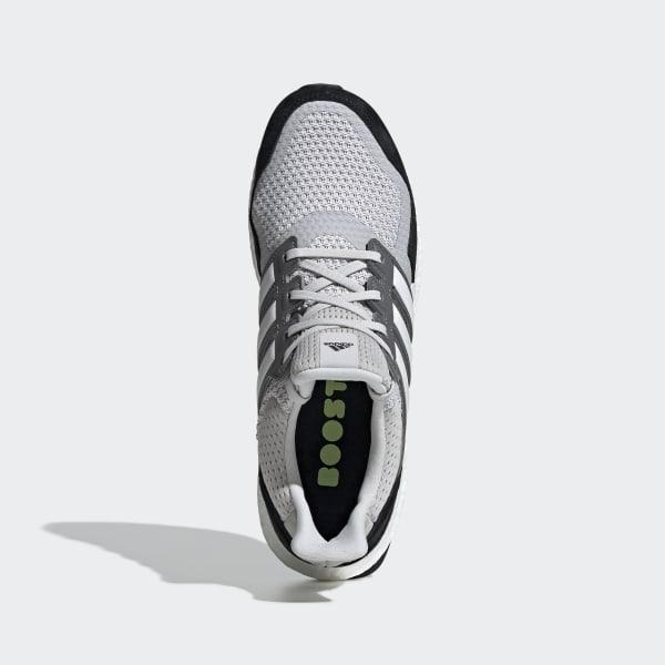 Herren Schuhe adidas Ultra Boost 3.0 Grau Leather Cage   BB1092
