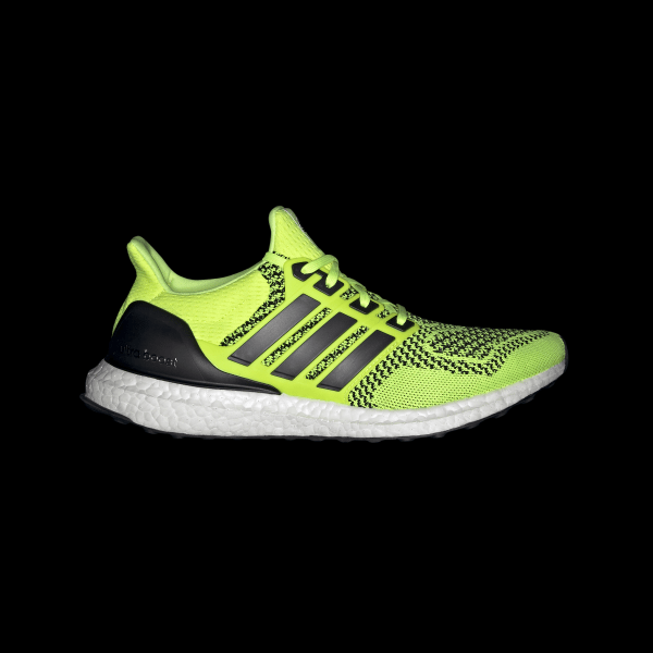 Mens Shoes adidas Primeknit Boost 2.0 Solar Yellow White