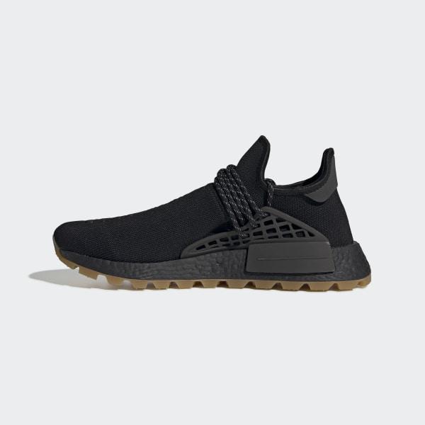 Details about adidas NMD HU Pharrell Human Race Core Black