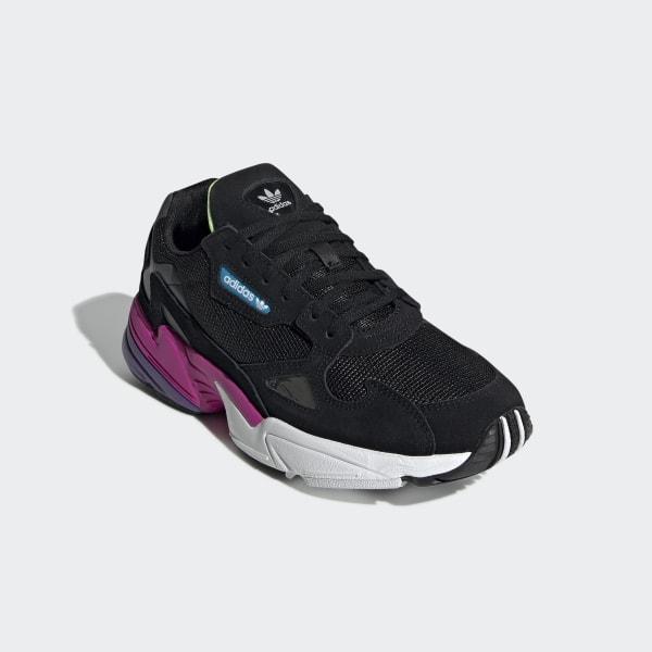 dobra sprzedaż Najnowsza moda tanie z rabatem adidas Falcon Shoes - Black   adidas Finland