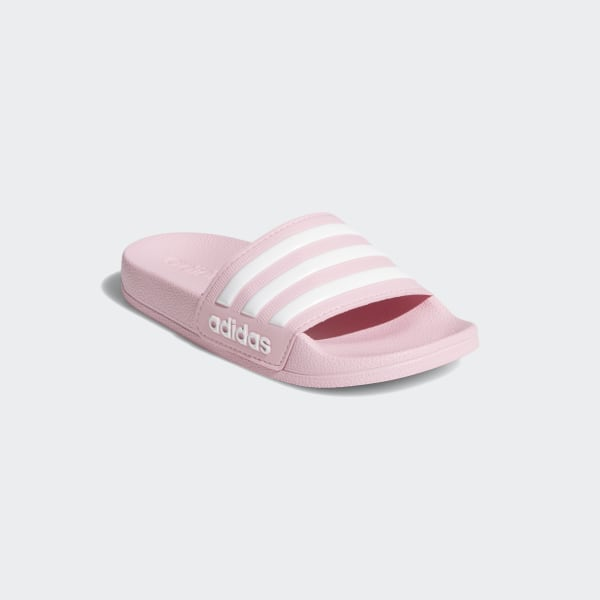 adidas slippers roze kind