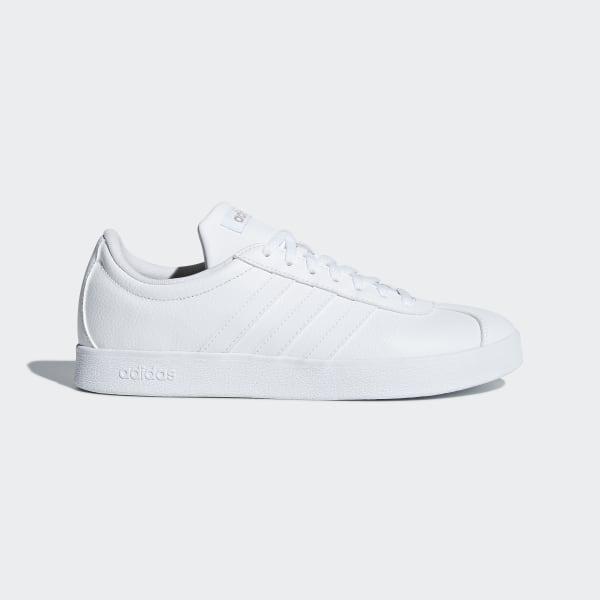 united kingdom another chance amazing price adidas VL Court 2.0 Shoes - White | adidas UK