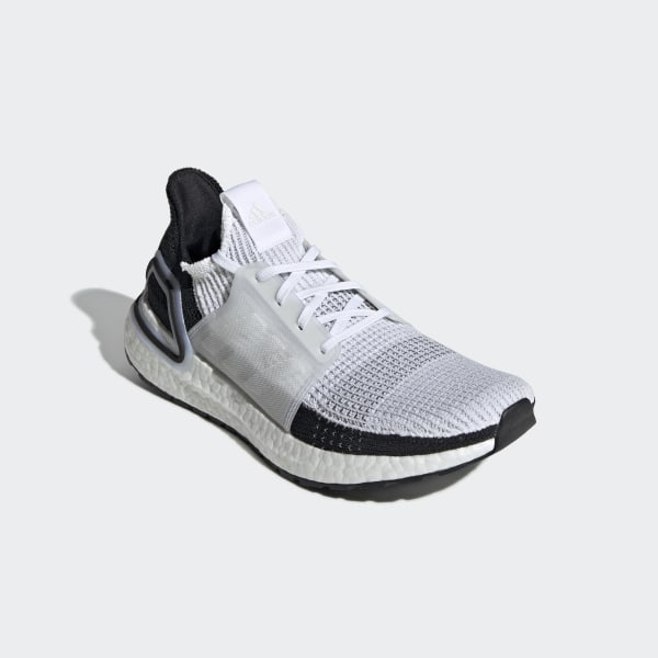 Details about Adidas Ultra Boost 19 WHITE BLACK 2019 Size UK 9 US 9.5