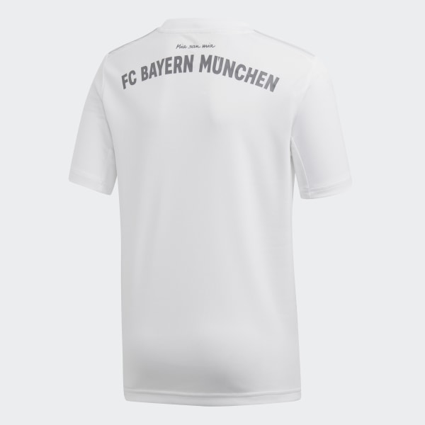 adidas FC Bayern München Auswärtstrikot Weiß | adidas Austria