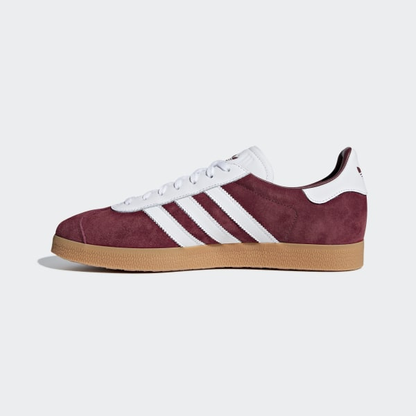 Adidas Gazelle Schoenen Collegiate BurgundyWitWit AQ0878 Cheap