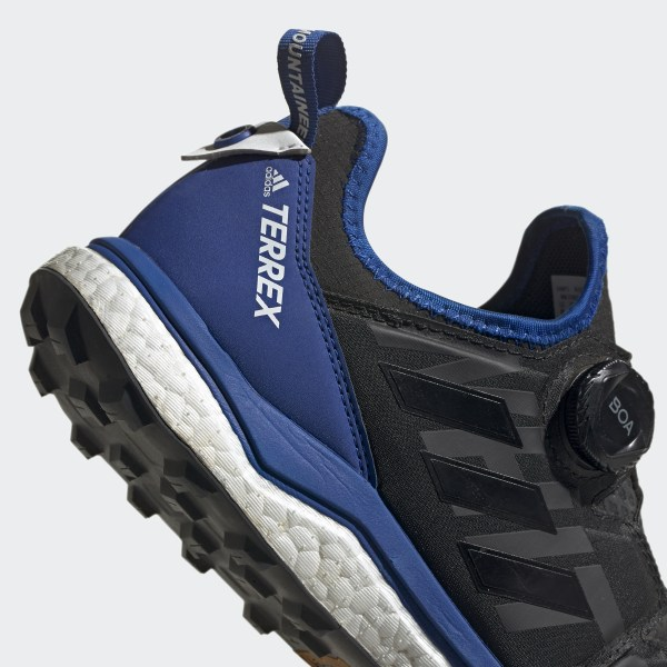 adidas Mens Terrex Agravic Boa Trail Running Shoes Trainers