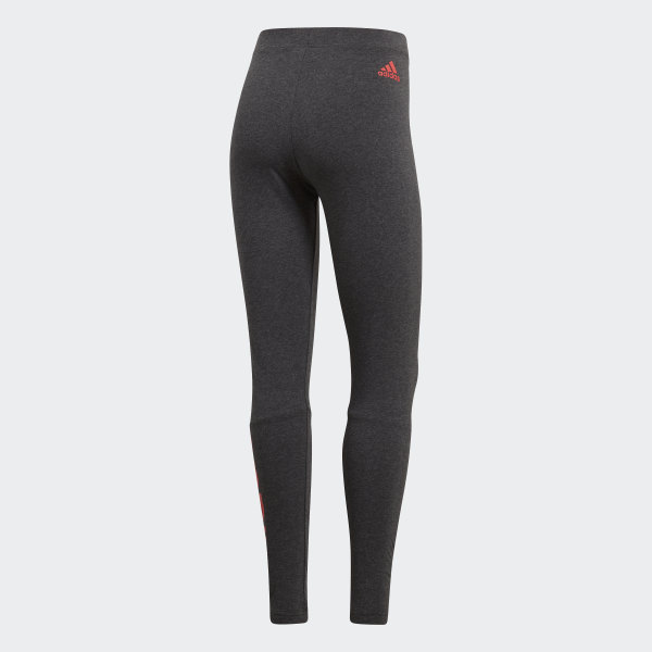 Adidas Essentials Linear Women's Workout Tights Grey