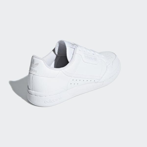 Buy White adidas Originals Continental 80 Children | JD Sports