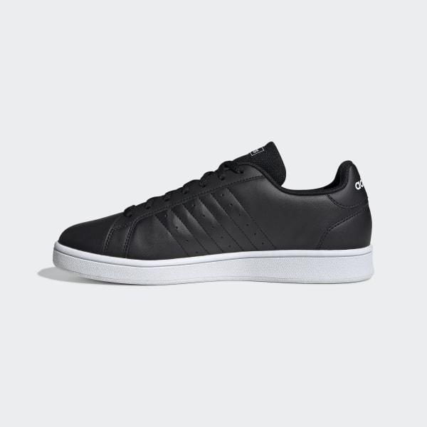 adidas Grand Court Base Schoenen - Zwart | adidas Officiële Shop