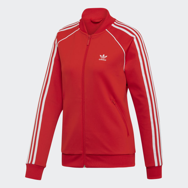 SST Track Jacket Red Womens | Jackets, Pants for women, Pink