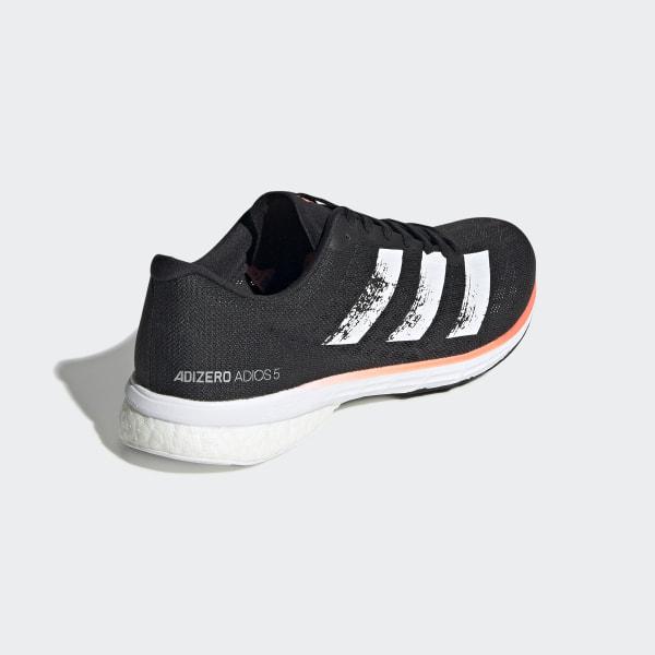 Adidas Adizero Adios 5M Men's Running Shoes Sneakers Jogging Casual Black EE4292