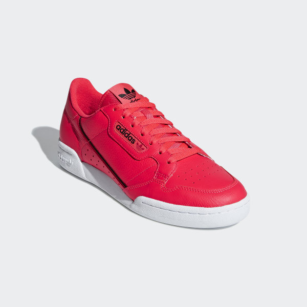 adidas Continental 80 Shoes - Red | adidas UK