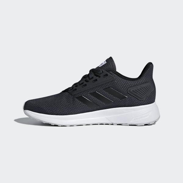 Adidas Duramo Lite Herren Sneakers, Grau und Orange, Größe 43