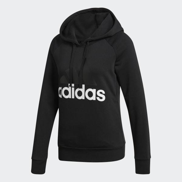 adidas Essentials Linear Pullover Hoodie schwarz | Frauen