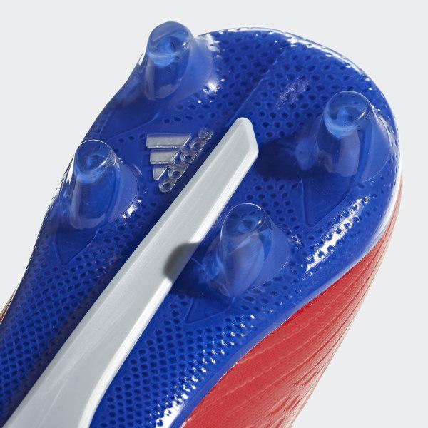 adidas Herren X 18.2 Fg Fußballschuhe, schwarzrot