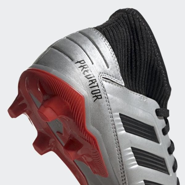 Scarpe da calcio Predator 19.3 Firm Ground Argento adidas | adidas Switzerland