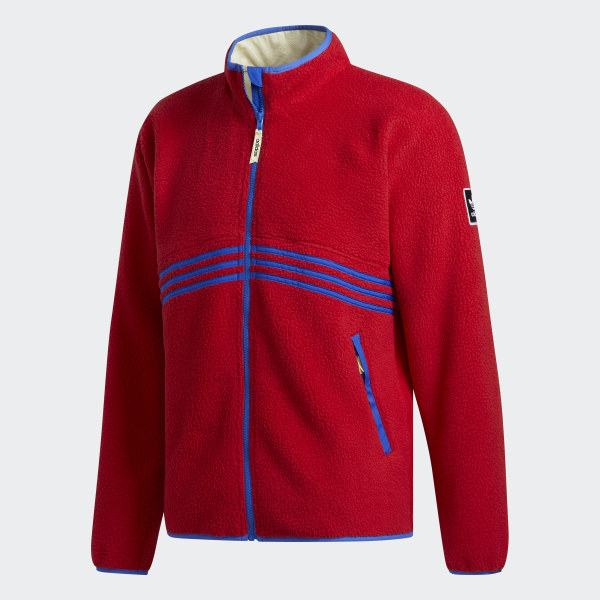 Giacca Sherpa Rosso adidas   adidas Switzerland