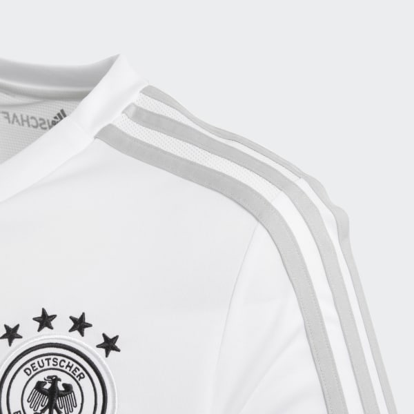 Adidas Performance White Football Kids Germany Training Suit