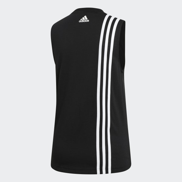 Débardeur Must Haves 3 Stripes Noir adidas | adidas France