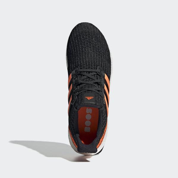 adidas Ultra Boost Core Black Solar Orange EH1423
