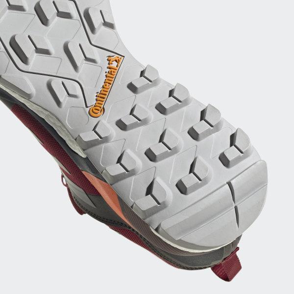 Adidas Terrex Skychaser GTX Collegiate BurgundyGrey TwoSolar Orange