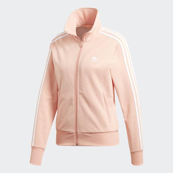 Adidas Jacke Größe S38 pink schwarz Reißverschluß Taschen